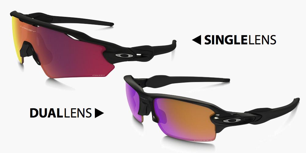 レンズの形状-一眼式と二眼式