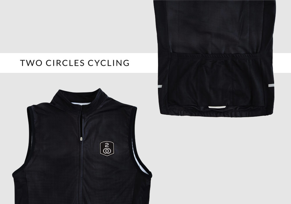 twocirclescyclingジレ