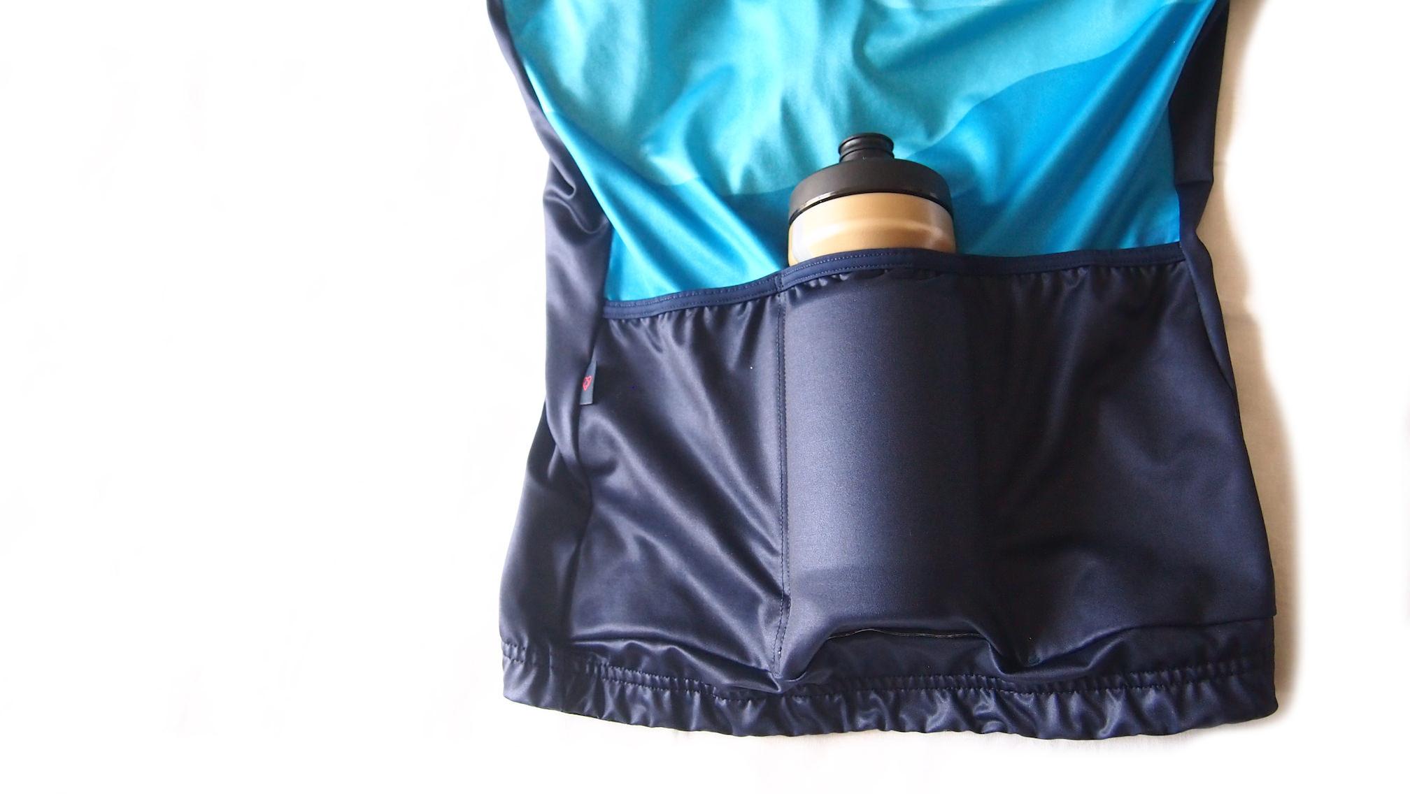 warsawジャージバックポケット