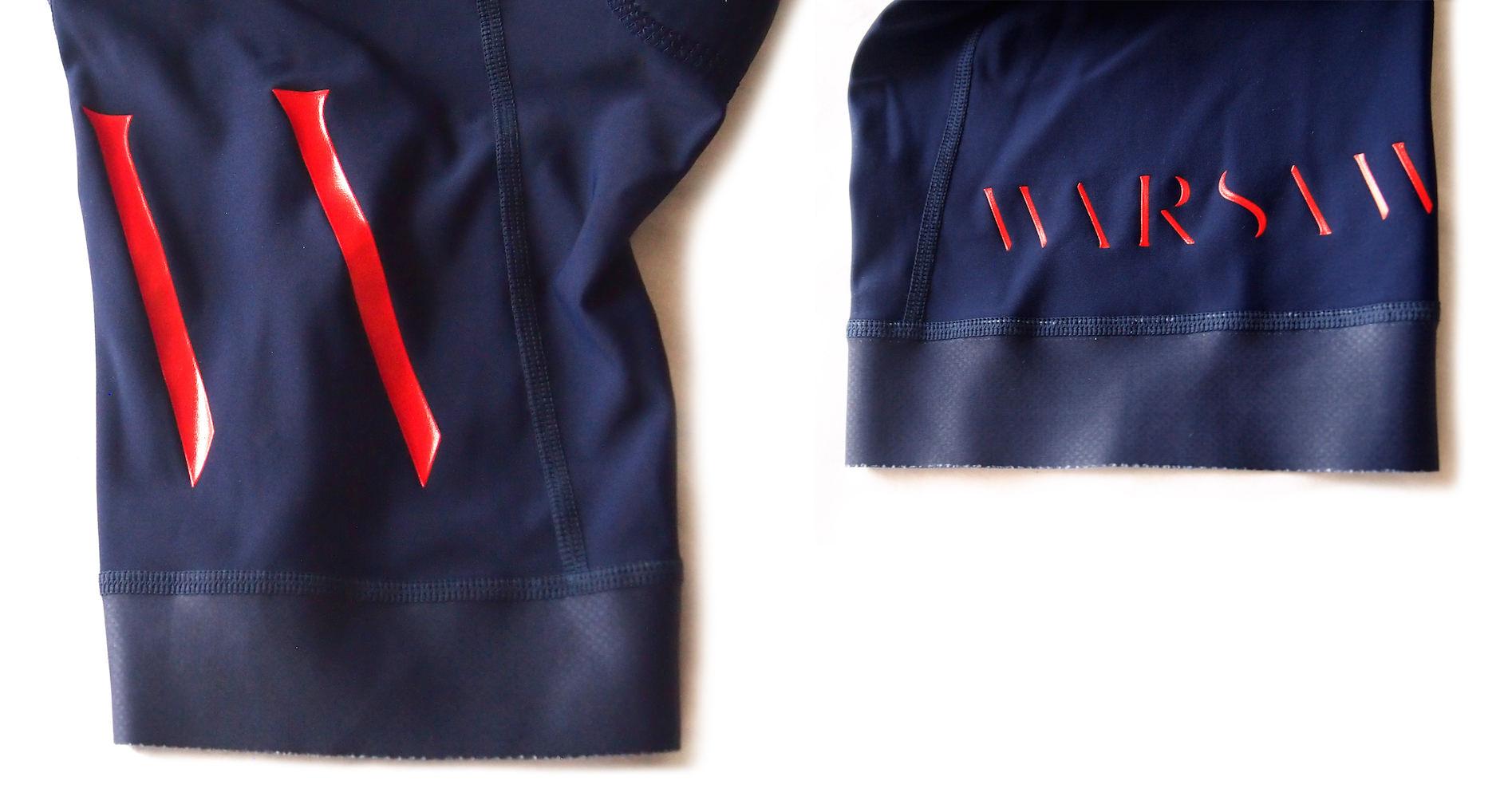 warsawビブ裾