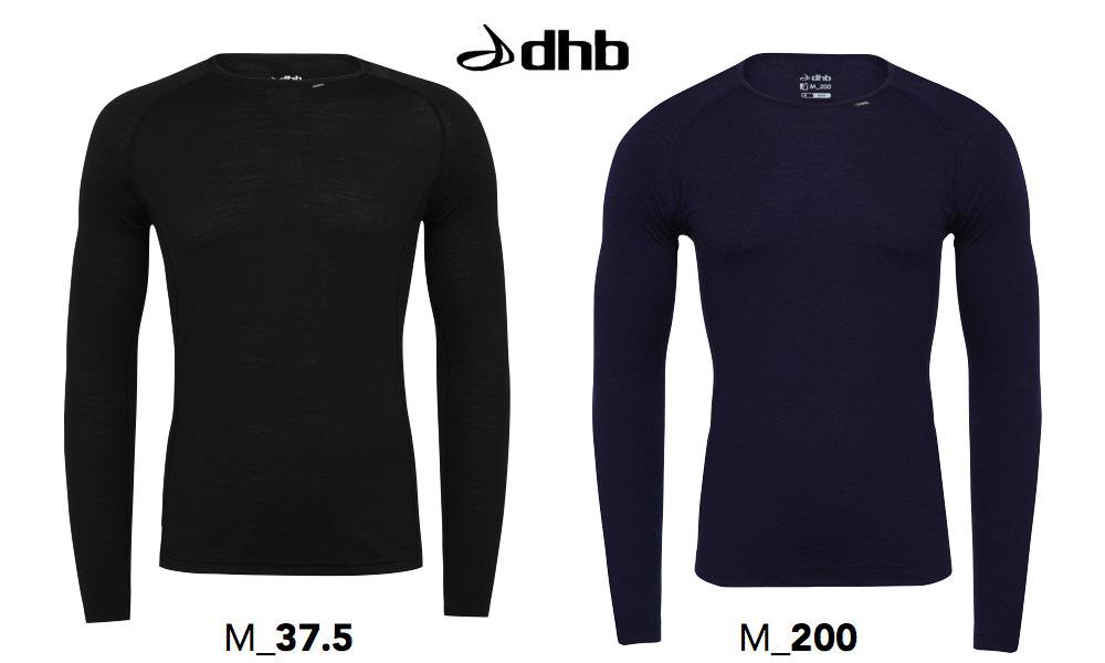 dhb冬用ベースレイヤー
