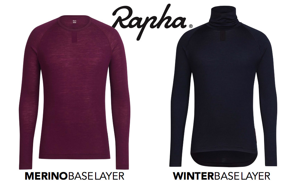 rapha冬用ベースレイヤー