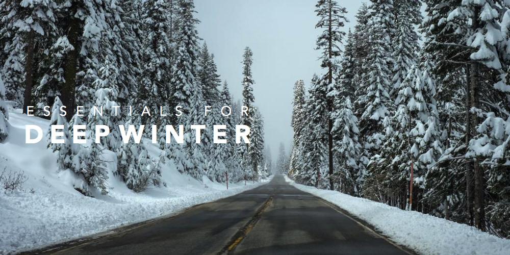 真冬のサイクリングに必要なもの