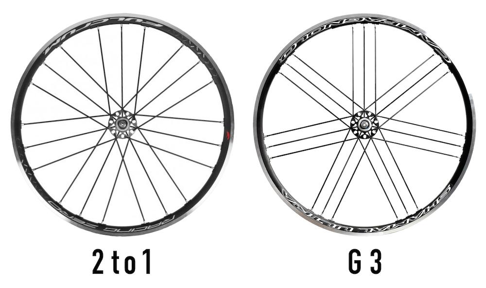 2to1とG3の比較
