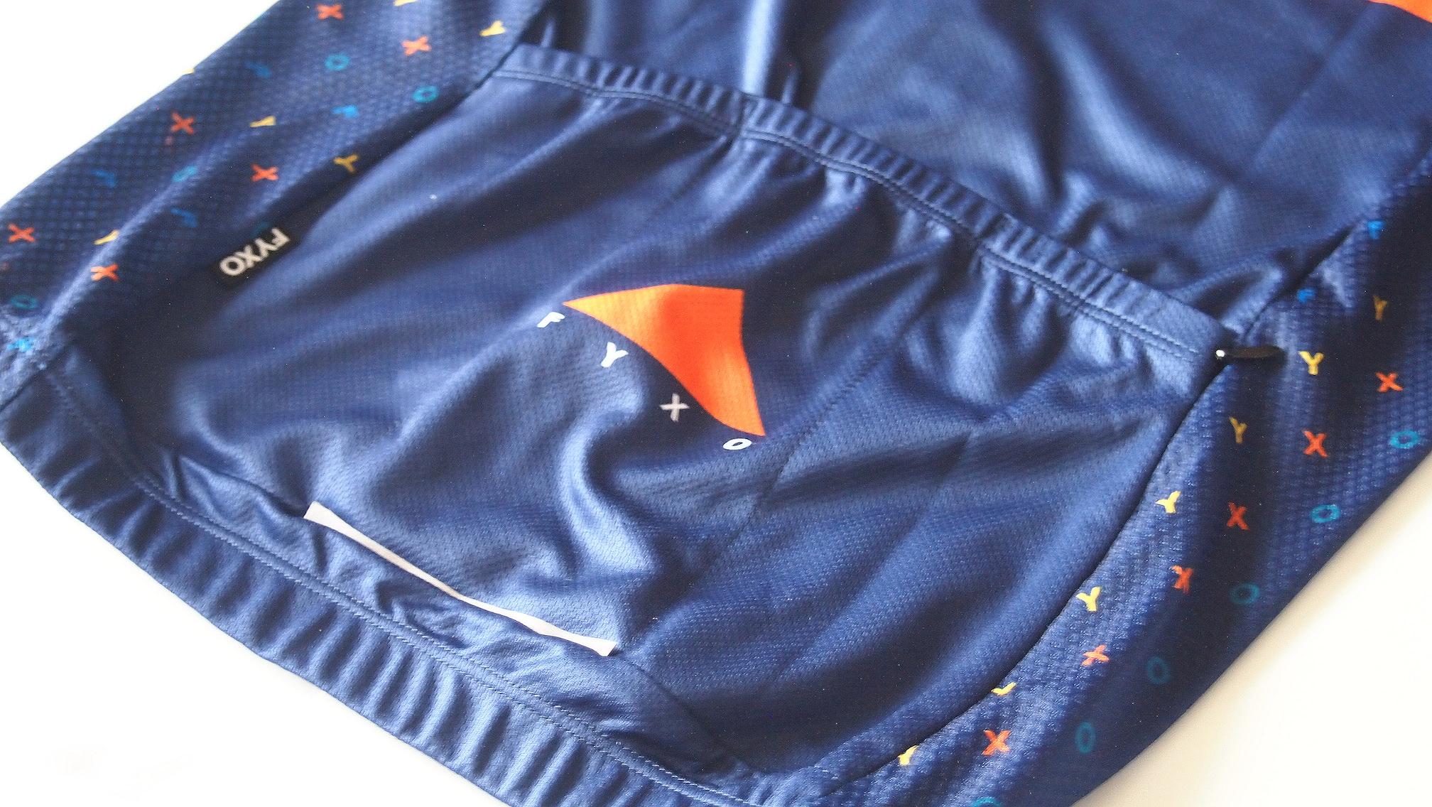 FYXO wildflower jersey バックポケット