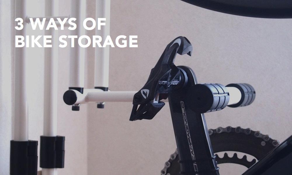 ロードバイク室内保管方法まとめ