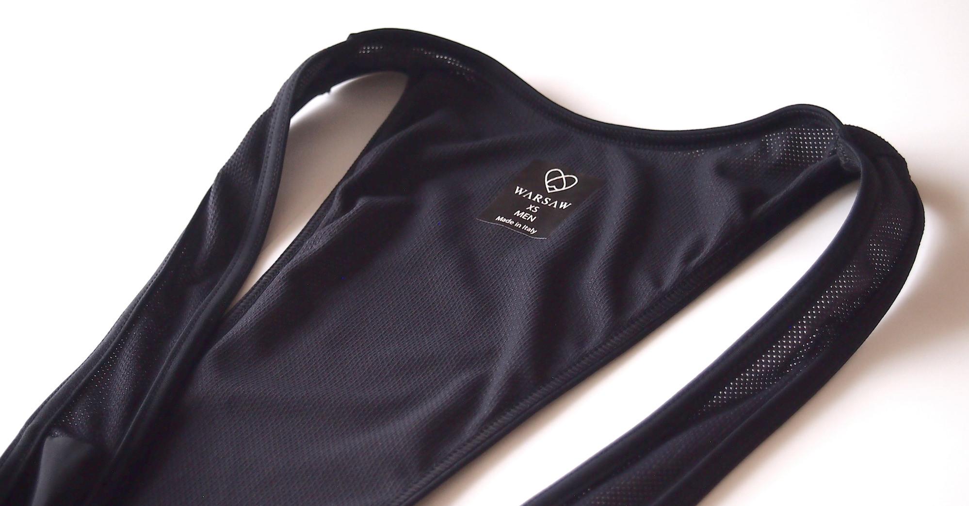 warsaw cycling ビブ肩紐