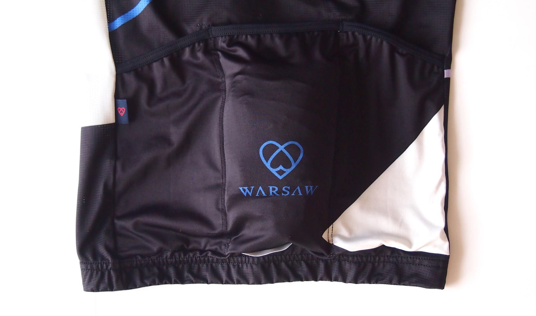 warsaw cycling ジレ収納