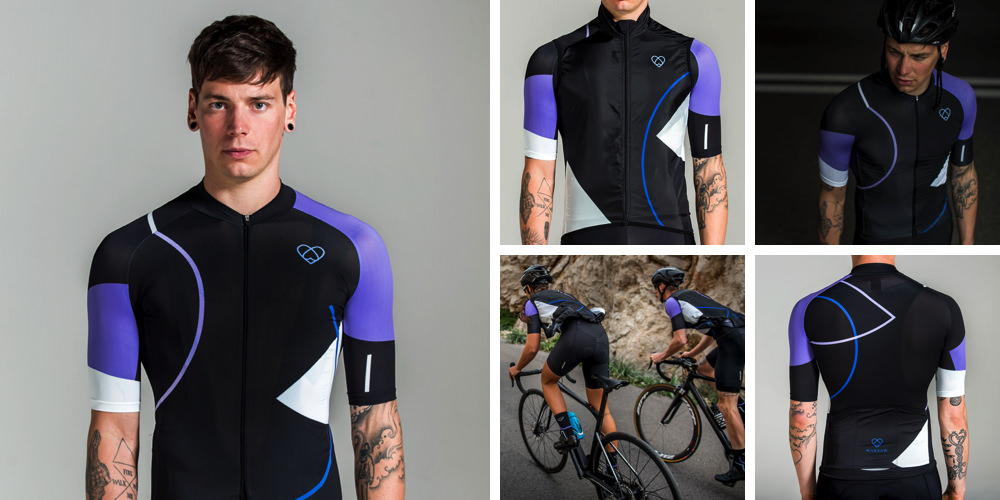 warsaw cycling retrofutur jersey & gilet