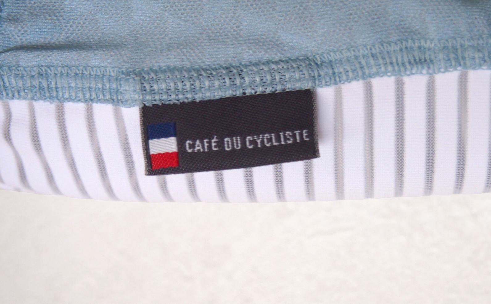 cafe du cycliste ジャージタグ