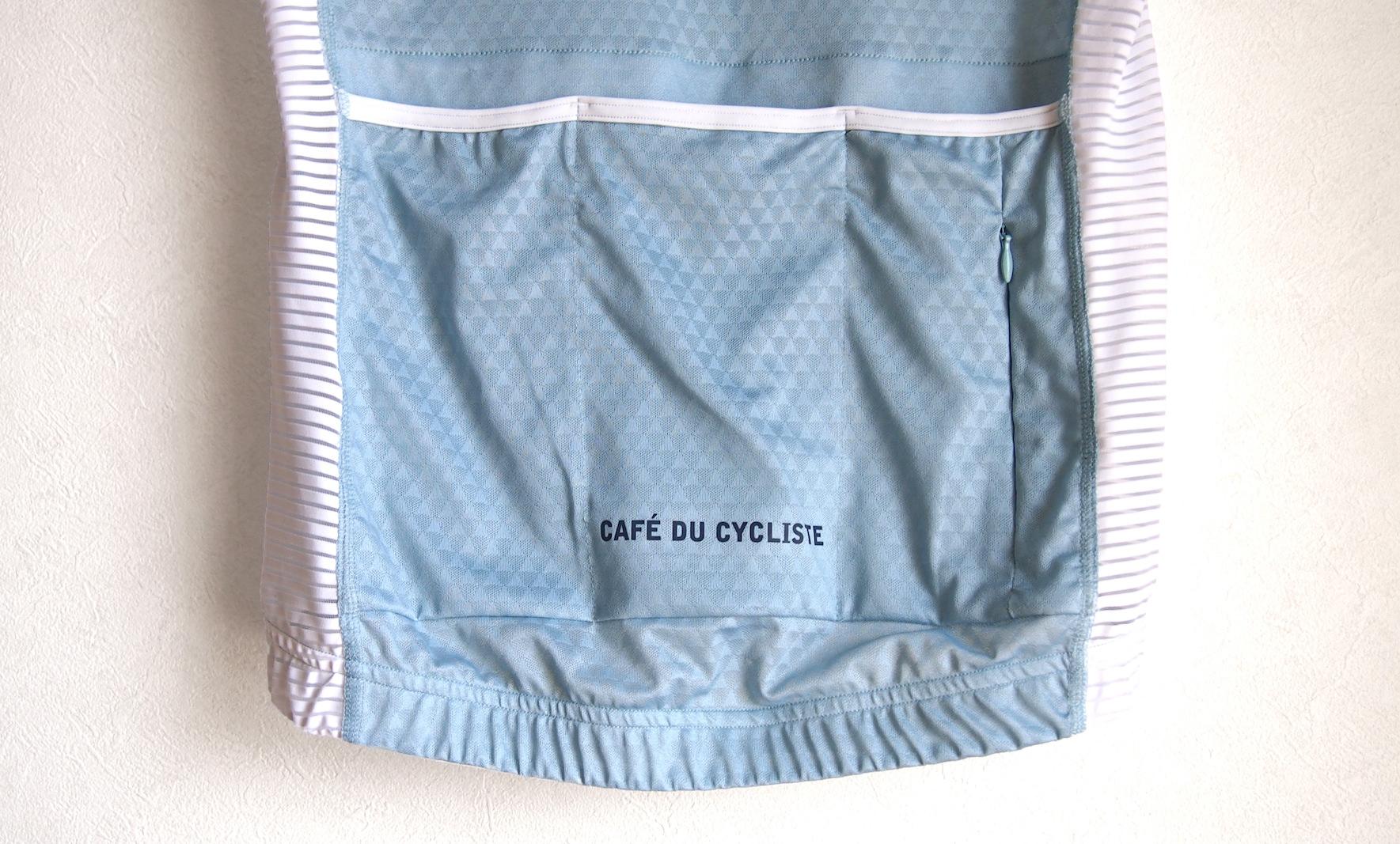 cafe du cycliste ジャージバックポケット