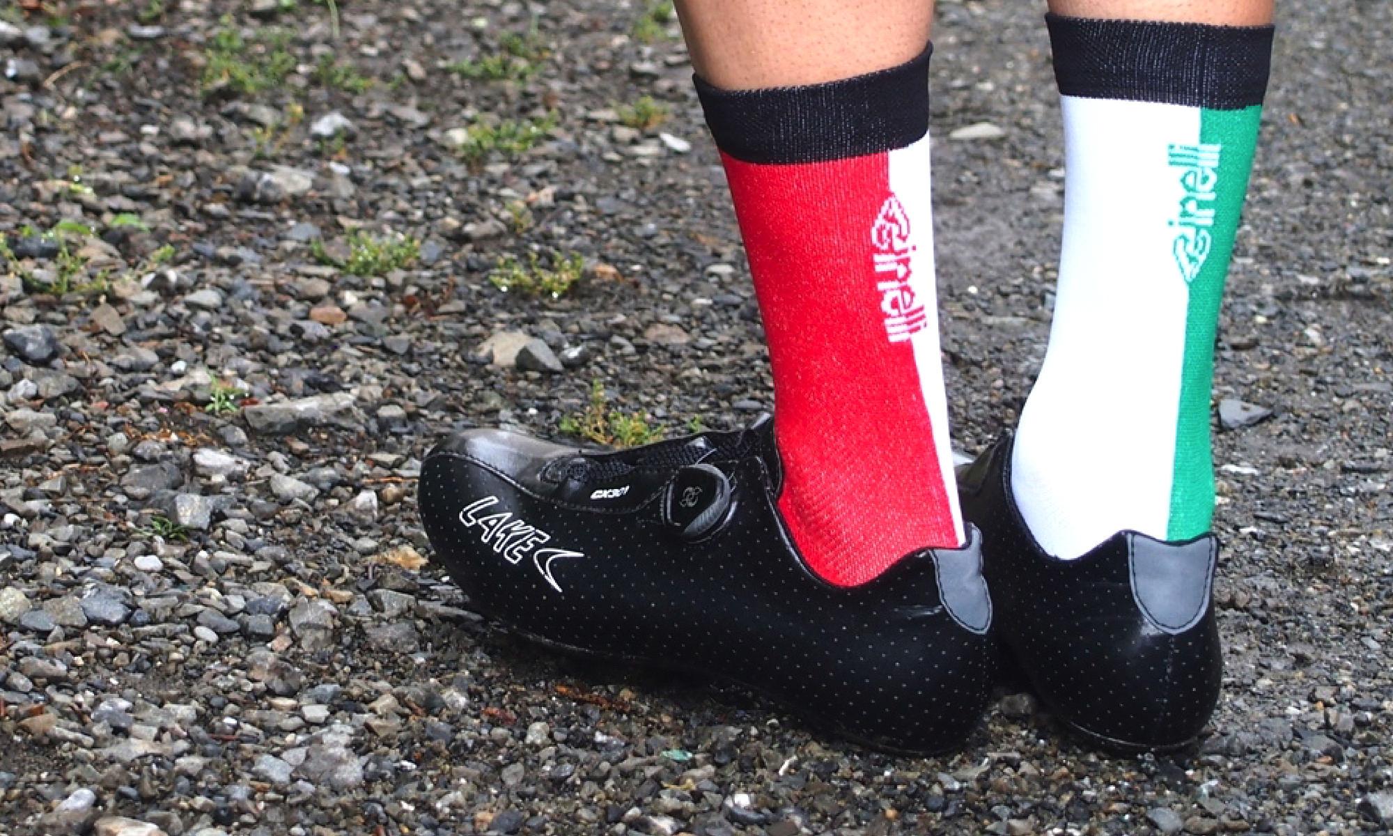 The Wonderful Socks Cinelli rear