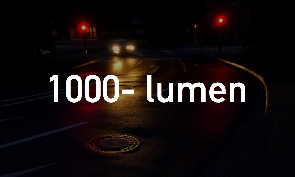 1000ルーメン以上