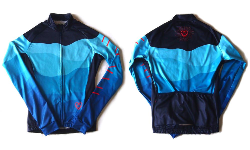 warsaw cycling long sleeve jersey