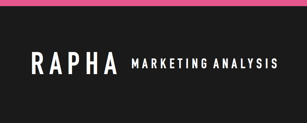 rapha marketing analysis