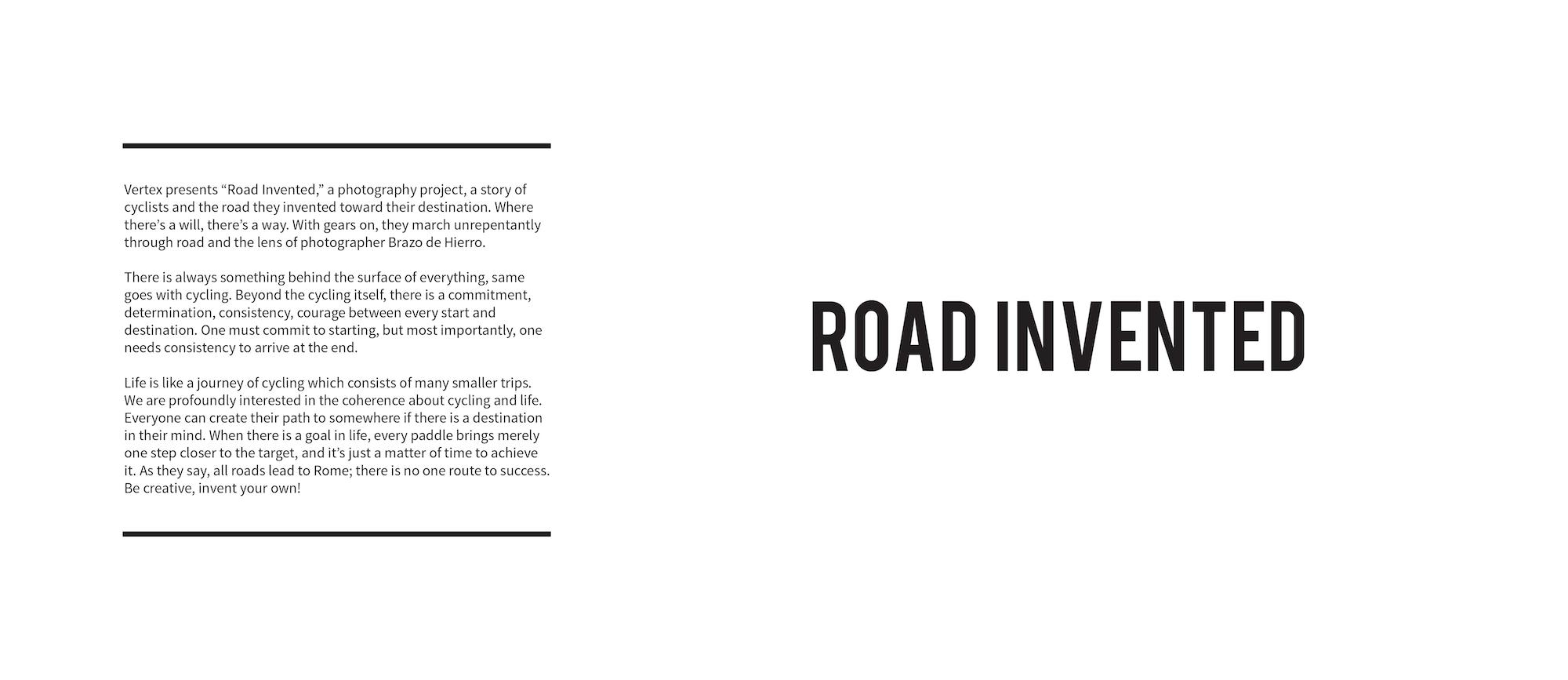 Road Invented