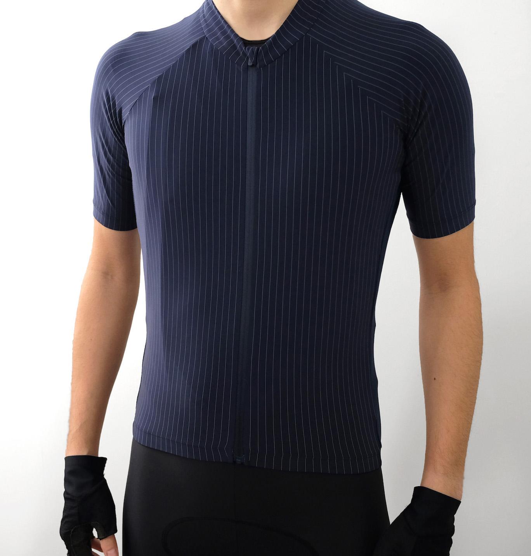 Vertex Pinstripe Jersey 着用イメージフロント