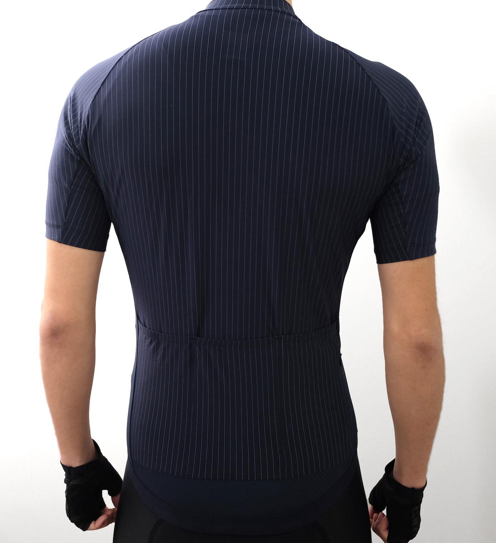 Vertex Pinstripe Jersey 着用イメージバック