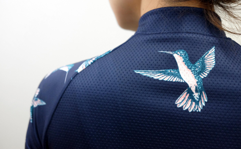 Hummingbirds Womens Jersey - back2