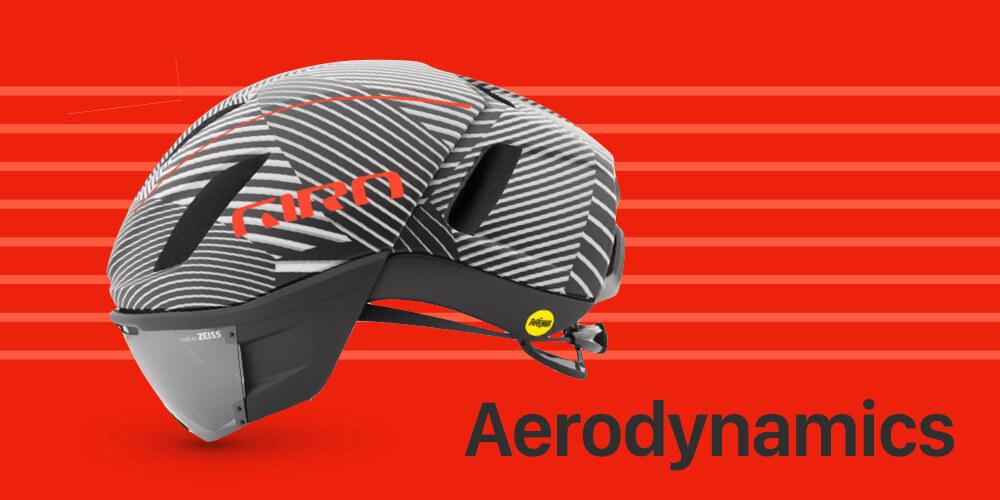 ロードバイクヘルメット エアロダイナミクス