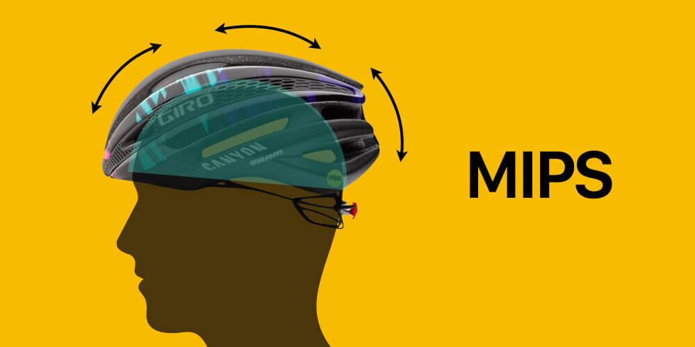 ロードバイクヘルメット MIPS