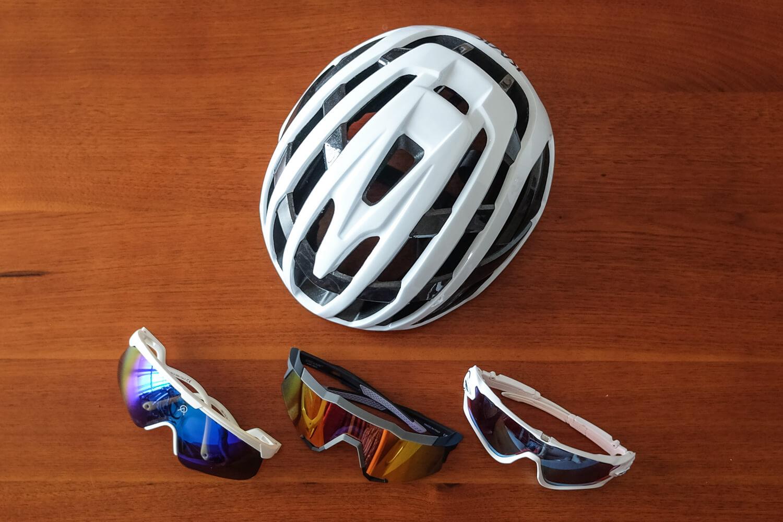 KASK Valegro and eyewear