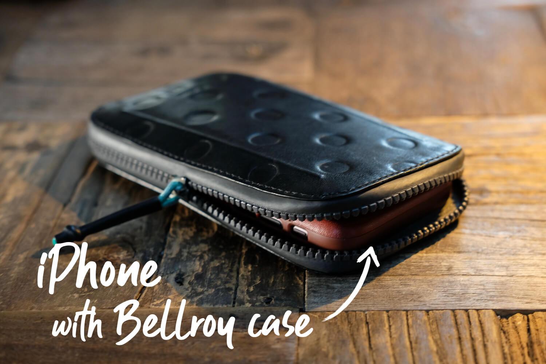 Bellroy Phoneポケットに収納するPhoneケース