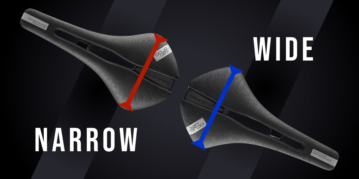 サドルの選び方 - 幅