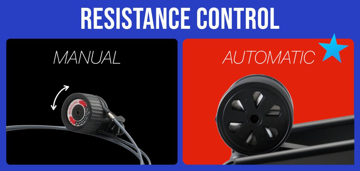 ローラー負荷調整方法の違い - マニュアルorオート