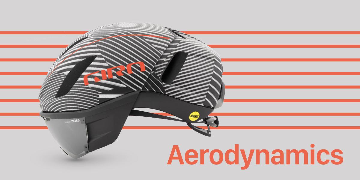 ヘルメットの空力