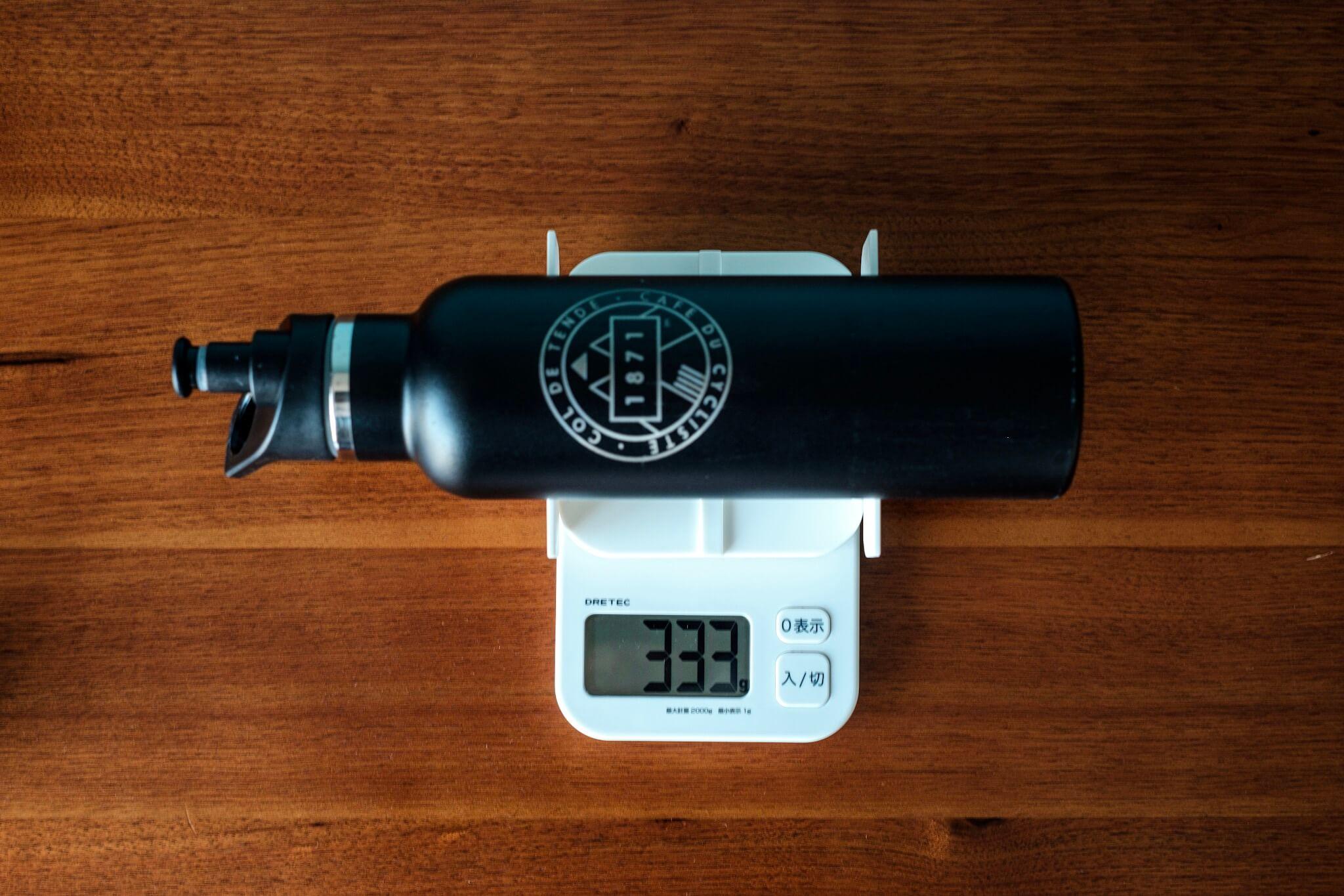フラスクボトル重量