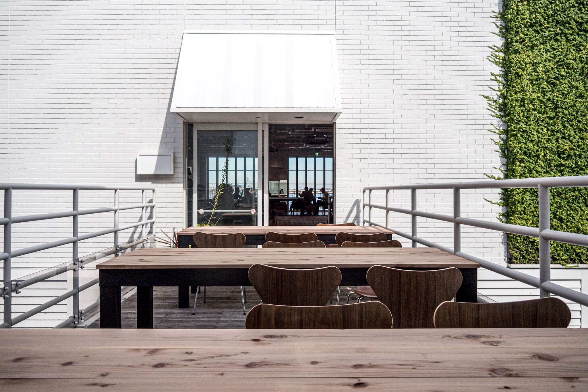 ゼブラコーヒー横浜 テラス