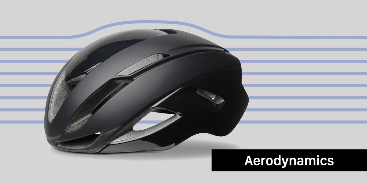 ヘルメットのエアロダイナミクス