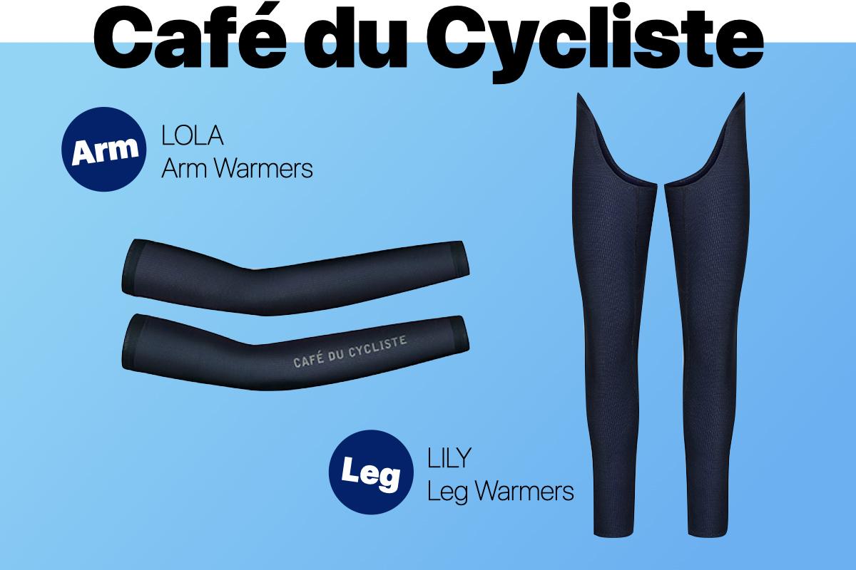 Café du Cyclisteウォーマー
