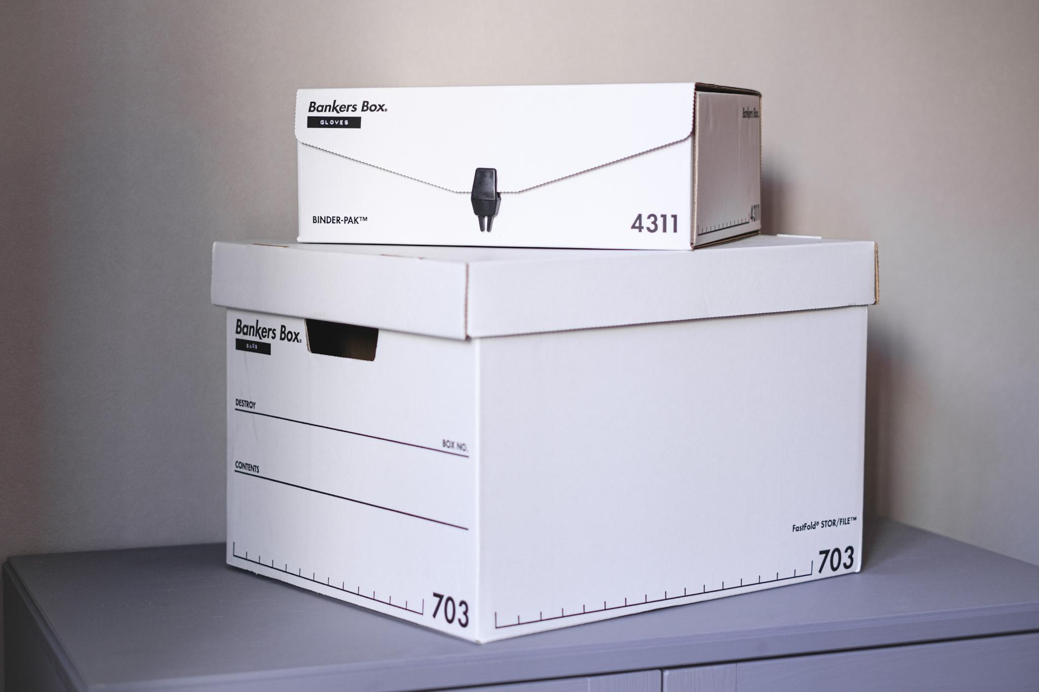Bankers Box2種